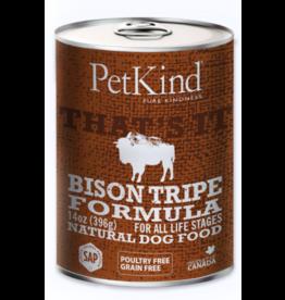 Petkind PetKind Canned Dog Food Bison Tripe 13 oz single