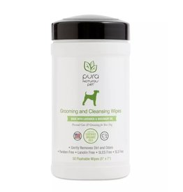 Pure and Natural Pet Pure and Natural Pet | Grooming and Cleansing Wipes 50 ct