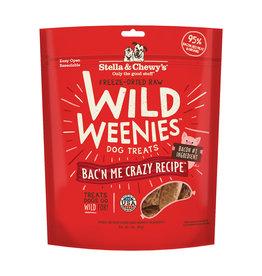 Stella & Chewy's Stella & Chewy's Wild Weenies Dog Treats Bac'N Me Crazy 3.25 oz