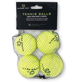 Hyper Pet Hyper Pet Dog Toys | Tennis Balls Green 4 pk