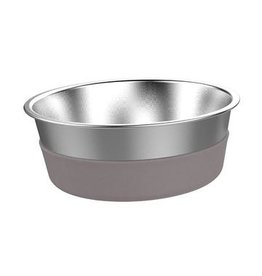 Messy Mutts Messy Mutts | Stainless Steel Bowl w/ Silicone Bottom Large