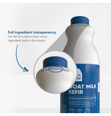 Open Farm Open Farm Frozen Goat Milk Kefir 30 oz single (*Frozen Products for Local Delivery or In-Store Pickup Only. *)