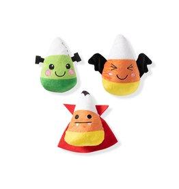 Pet Shop Pet Shop Halloween Plush Toys | Mini Muttster Candy Corn 3 pk