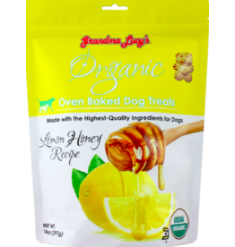 Grandma Lucy's Grandma Lucy's Crunchy Dog Treats Organic Lemon Honey 14 oz