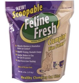 Feline Fresh Feline Fresh Pine Cat Litter Clumping 17 lb (* Litter 12 lbs or More for Local Delivery or In-Store Pickup Only. *)