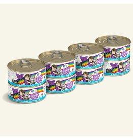 Weruva Weruva BFF OMG! Canned Cat Food | Beef & Salmon Best Day Eva! 5.5 oz CASE