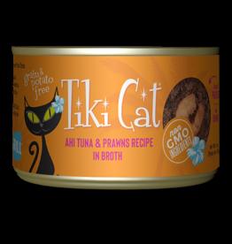Tiki Cat Canned Cat Food Manana Grill (Ahi Tuna w/ Prawns) 6 oz single