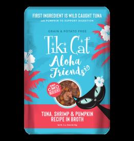 Tiki Tiki Cat Aloha Friends Pouches Tuna w/ Shrimp & Pumpkin 3 oz single