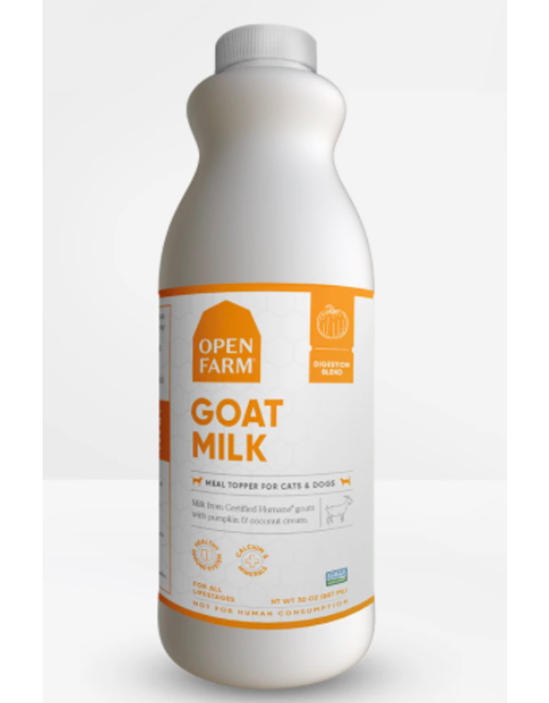 Open Farm Open Farm Frozen Goat Milk Kefir | Digestion 30 oz single (*Frozen Products for Local Delivery or In-Store Pickup Only. *)