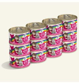 Weruva BFF OMG! Canned Cat Food CASE Dilly Dally 2.8 oz