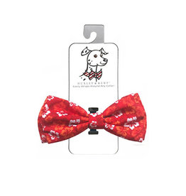 Huxley & Kent Huxley & Kent Bow Tie | Red Hibiscus Extra Large (XL)