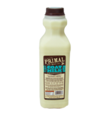 Primal Pet Foods Primal Frozen Raw Goat Milk 64 oz (*Frozen Products for Local Delivery or In-Store Pickup Only. *)