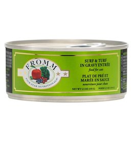 Fromm Fromm Four Star Canned Cat Food | Shredded Surf & Turf 5.5 oz CASE
