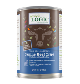 Nature's Logic Nature's Logic Canned Dog Food Beef Tripe 13.2 oz CASE