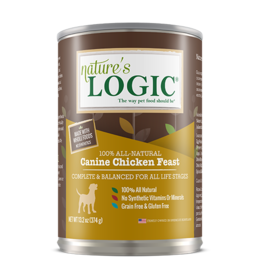 Nature's Logic Nature's Logic Canned Dog Food Chicken 13.2 oz single