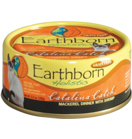 Earthborn Holistic Earthborn Holistic Cat Canned Food Catalina Catch Mackerel & Shrimp 5.5 oz CASE