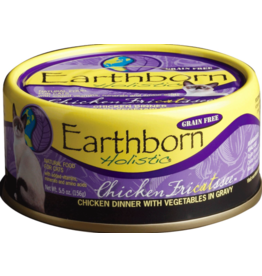 Earthborn Holistic Earthborn Holistic Cat Canned Food Chicken Fricatssee with Vegetables 5.5 oz CASE