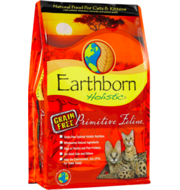 Earthborn Holistic Earthborn Holistic Cat Kibble Primitive Feline Turkey 14 lbs