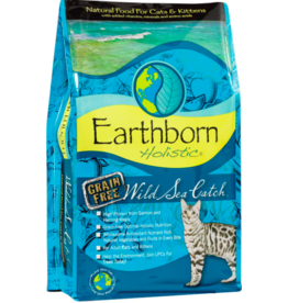 Earthborn Holistic Earthborn Holistic Cat Kibble Wild Sea Catch Salmon 14 lbs