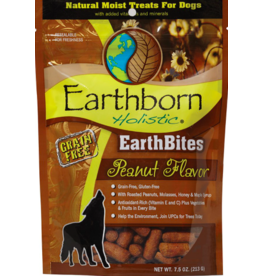 Earthborn Holistic Earthborn Holistic EarthBites Soft Dog Treats Peanut 7.5 oz