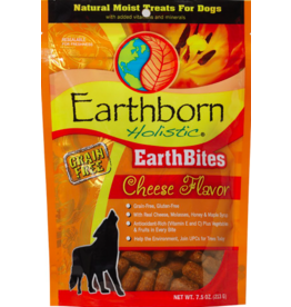 Earthborn Holistic Earthborn Holistic EarthBites Soft Dog Treats Cheese 7.5 oz