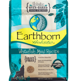 Earthborn Holistic Earthborn Holistic Crunchy Dog Treats Whitefish 2 lb