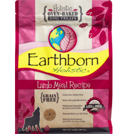Earthborn Holistic Earthborn Holistic Crunchy Dog Treats Lamb 2 lb