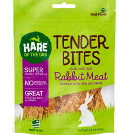 Treat Planet Hare of the Dog Tender Bites | Rabbit 4.5 oz