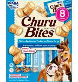 Inaba Inaba Dog Churu Bites | Chicken & Cheese 8 pk