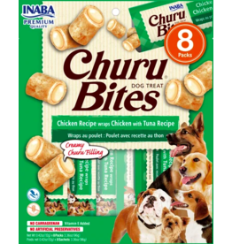 Inaba Inaba Dog Churu Bites | Chicken & Tuna 8 pk