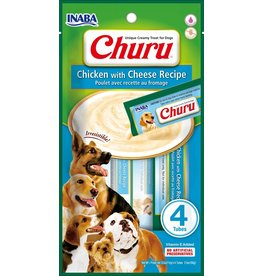 Inaba Inaba Churu Puree Dog Treats Chicken & Cheese 8 pk