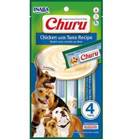 Inaba Inaba Churu Puree Dog Treats Chicken & Tuna 8 pk