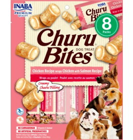 Inaba Inaba Dog Churu Bites | Chicken & Salmon 8 pk