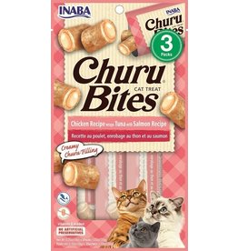 Inaba Inaba Cat Churu Bites | Chicken, Tuna, & Salmon 3 pk