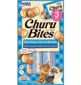 Inaba Inaba Cat Churu Bites | Chicken, Tuna, & Scallop 3 pk