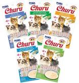Inaba Inaba Churu Puree Cat Treats Chicken w/ Crab 4 pk