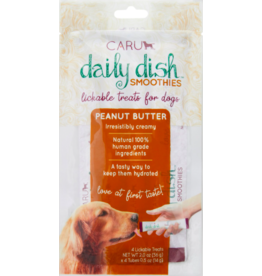 Caru Caru Daily Dish Dog Smoothies | Peanut Butter 2 oz