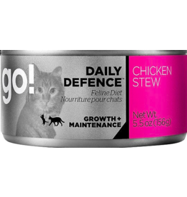 Petcurean Petcurean Go! Daily Defence Canned Cat Food Chicken Stew 5.5 oz single