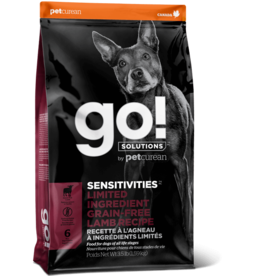 Petcurean Petcurean Go! Dog Kibble  Sensitivities: LID Lamb 22 lb