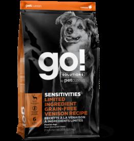 Petcurean Petcurean Go! Dog Kibble Sensitivities: LID Venison 25 lb