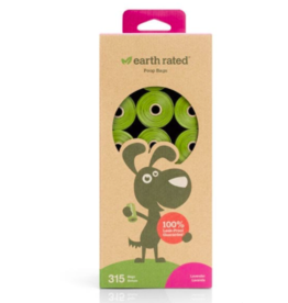 Earth Rated Earth Rated Poop Bags Lavender Scented 21 Rolls 315 ct