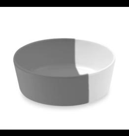TarHong DISC TarHong Pet Food Bowl | Dual Gray Medium