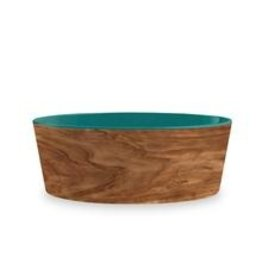 TarHong TarHong Pet Food Bowl | Olive Teal Medium