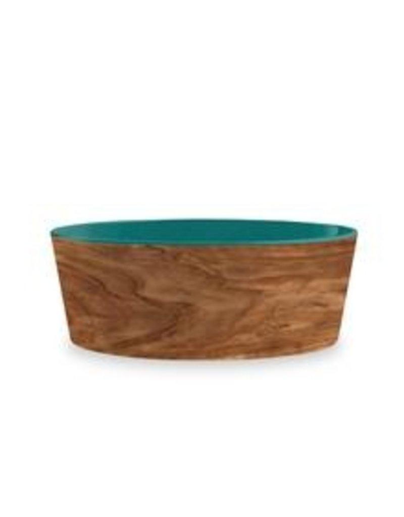 TarHong TarHong Pet Food Bowl | Olive Teal Medium