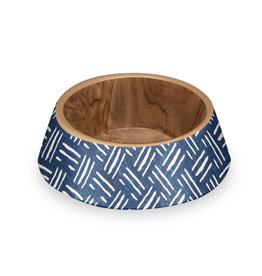 TarHong TarHong Pet Food Bowl | Indigo Oasis Large