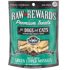 Northwest Naturals Northwest Naturals Raw Rewards Treats | Green Lipped Mussels 2 oz