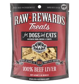 Northwest Naturals Northwest Naturals Raw Rewards Treats | Beef Liver 3 oz