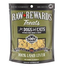 Northwest Naturals Northwest Naturals Raw Rewards Treats | Lamb Liver 3 oz