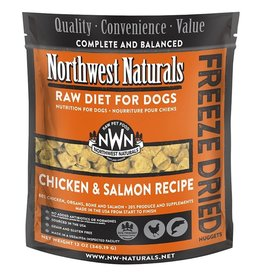 Northwest Naturals Northwest Naturals Freeze Dried Dog Food | Chicken & Salmon 12 oz