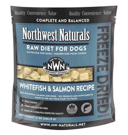 Northwest Naturals Northwest Naturals Freeze Dried Dog Food | Whitefish & Salmon 12 oz